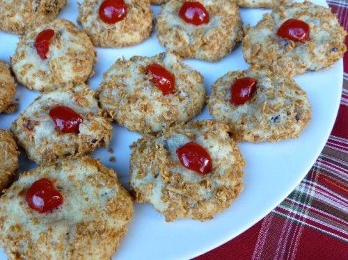 Weight Watchers Christmas Cookies  Wheaties Cherry Blinks Recipe