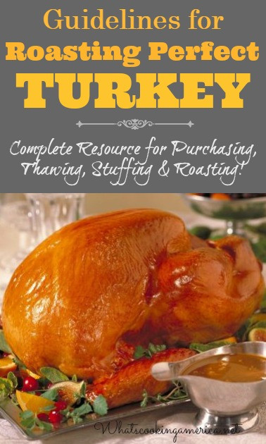 When Should I Buy My Turkey For Thanksgiving  Thanksgiving Turkey Basics Whats Cooking America