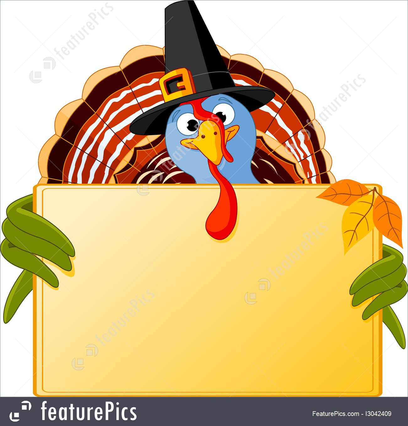 When Should I Buy My Turkey For Thanksgiving  Illustration Cartoon Turkey Banner