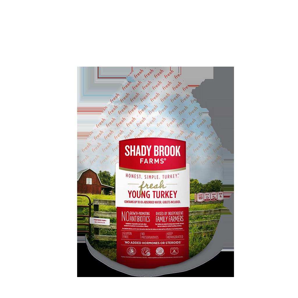 When To Buy A Fresh Turkey For Thanksgiving  Fresh Whole Turkey Shady Brook Farms turkey