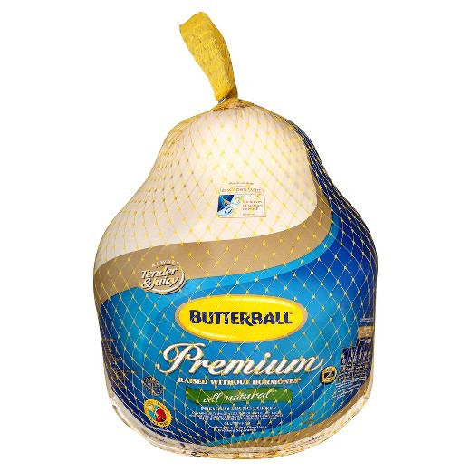 When To Buy A Fresh Turkey For Thanksgiving  Butterball Fresh Turkey 16 24lbs price per lb Tar