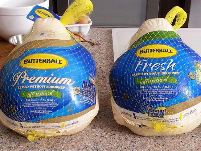 When To Buy Fresh Turkey For Thanksgiving  Butterball Fresh Turkey Shortage NBC4 Washington