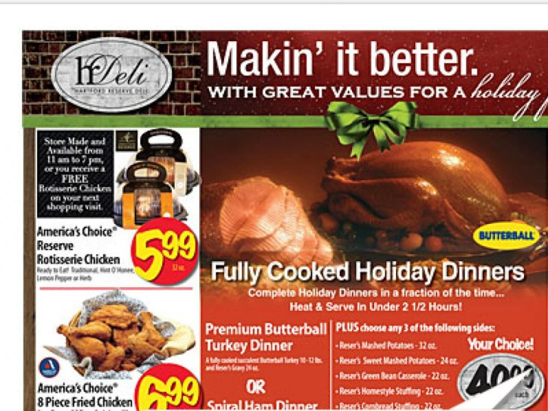 When To Buy Thanksgiving Turkey  Where to Buy Your Thanksgiving Turkey
