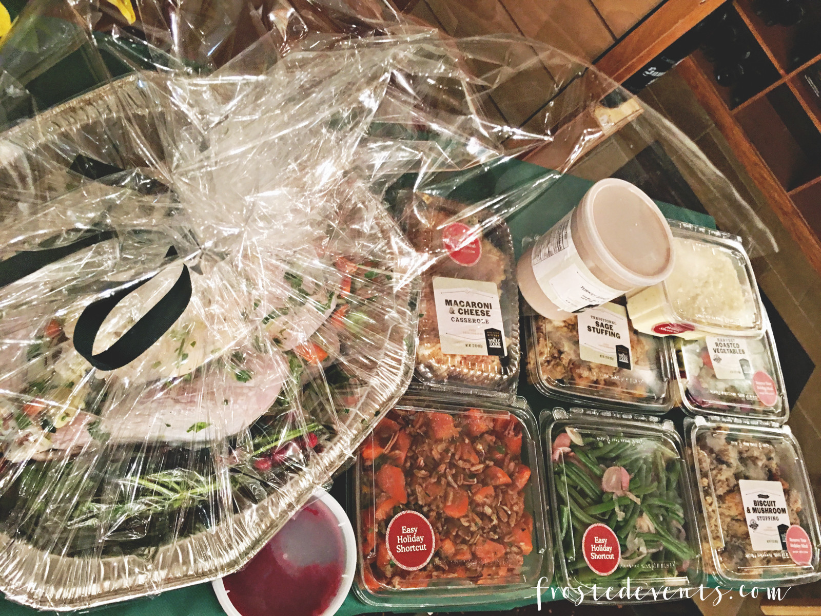 Whole Food Thanksgiving Dinner Order  Thanksgiving Dinner Whole Foods and Williams Sonoma Table