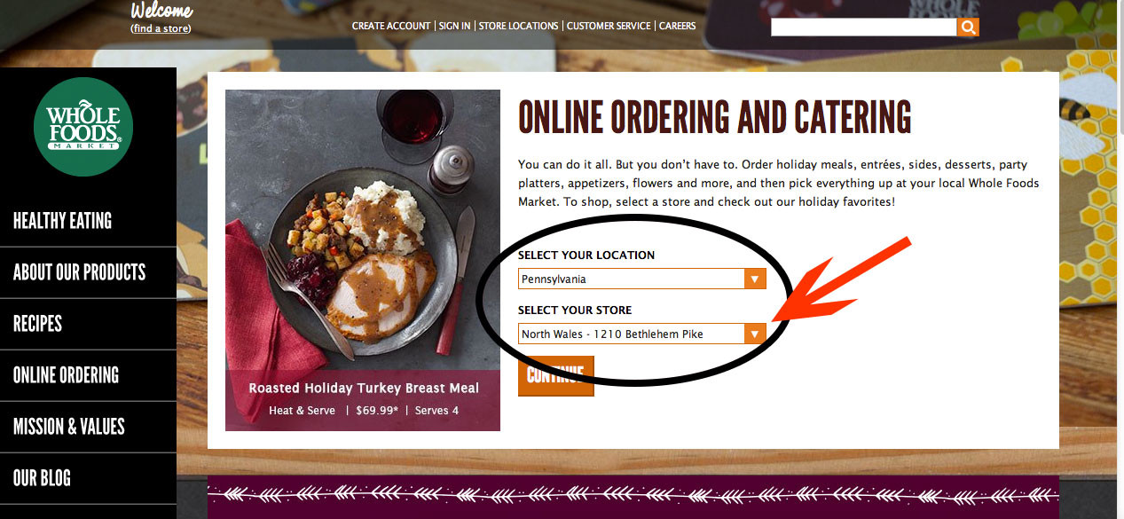 Whole Foods Order Thanksgiving Turkey  Cut holiday stress AND you may win a free organic turkey