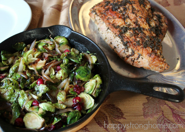 Whole Foods Thanksgiving Dinner 2019  A Thanksgiving Menu Plan Brussels Sprouts Recipe