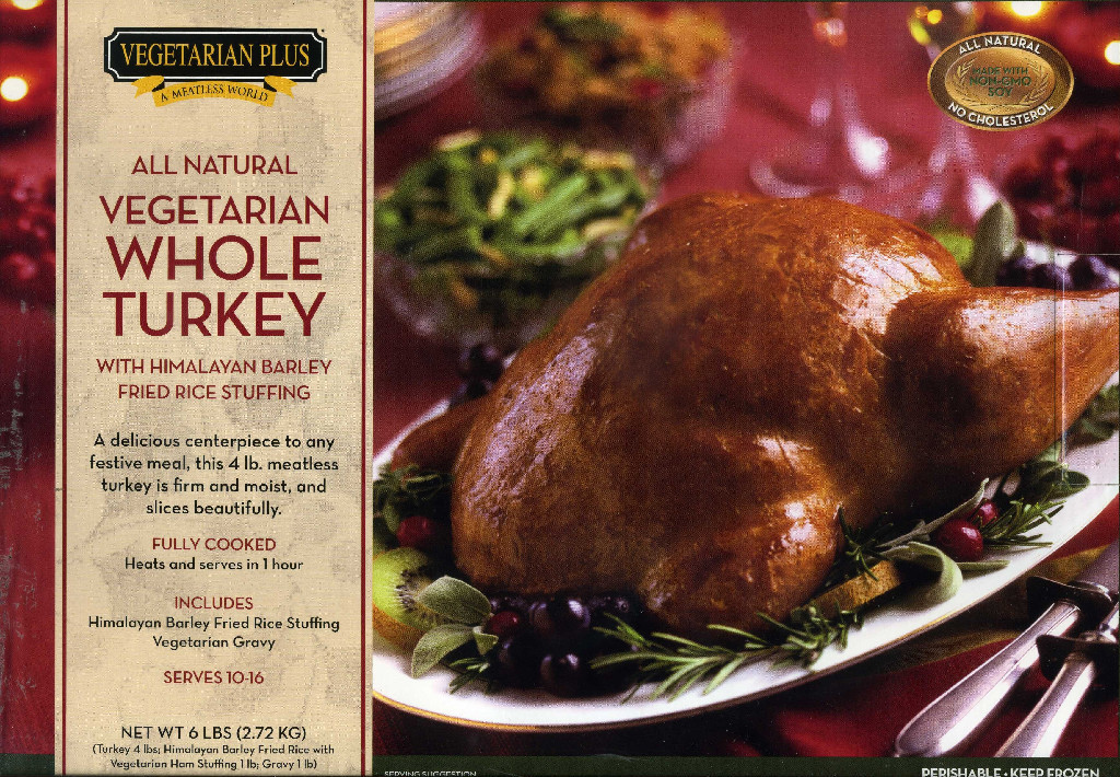 Whole Foods Vegan Thanksgiving  Vegan Whole Turkey frozen – ClarkDistributing