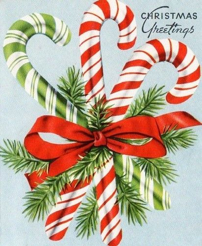 Why Are Candy Canes Associated With Christmas  My Paisley World Vintage Christmas Candy Canes How They