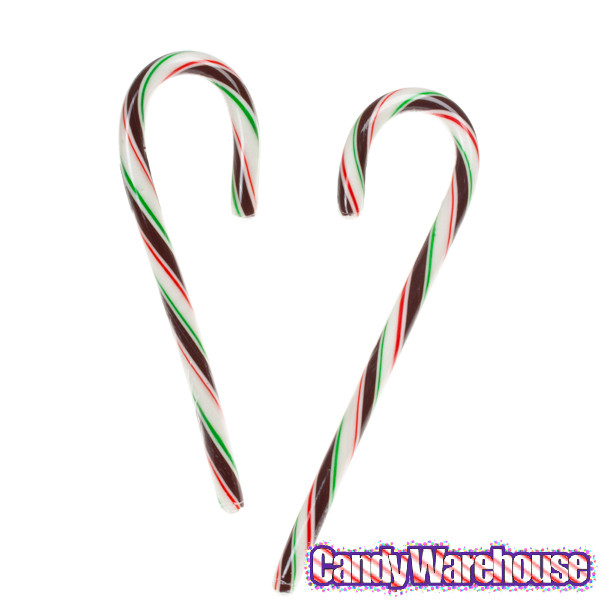 Why Are Candy Canes Associated With Christmas  Mint Chocolate Candy Canes