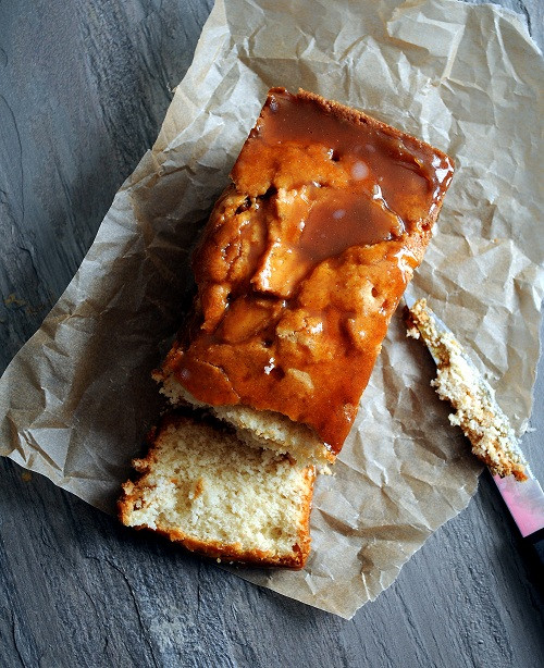 Why Did My Pound Cake Fall  Apple Cider Caramel Glazed Pound Cake