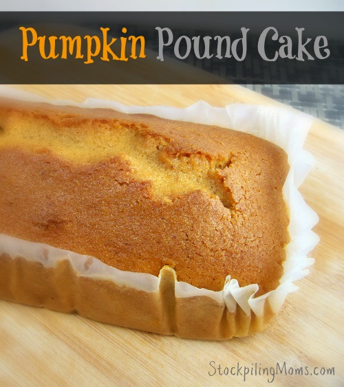 Why Did My Pound Cake Fall  Pumpkin Pound Cake Recipe