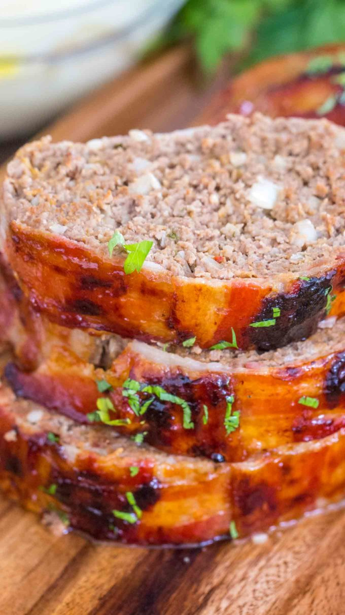 Why Does My Meatloaf Fall Apart  Best Bacon Wrapped Meatloaf [VIDEO] Sweet and Savory Meals
