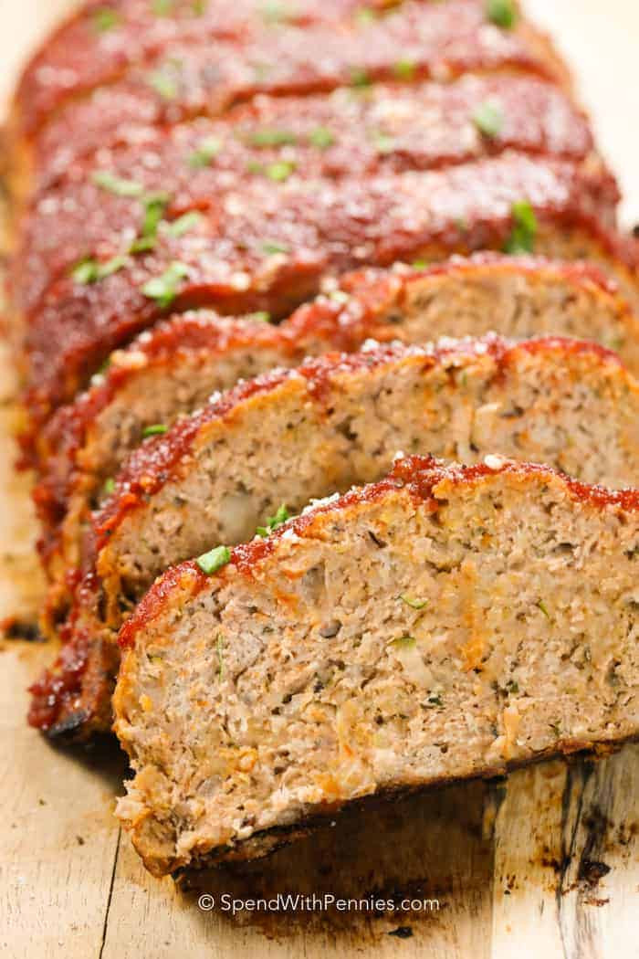 Why Does My Meatloaf Fall Apart  Best Meatloaf Recipe Turkey & Beef Spend with Pennies