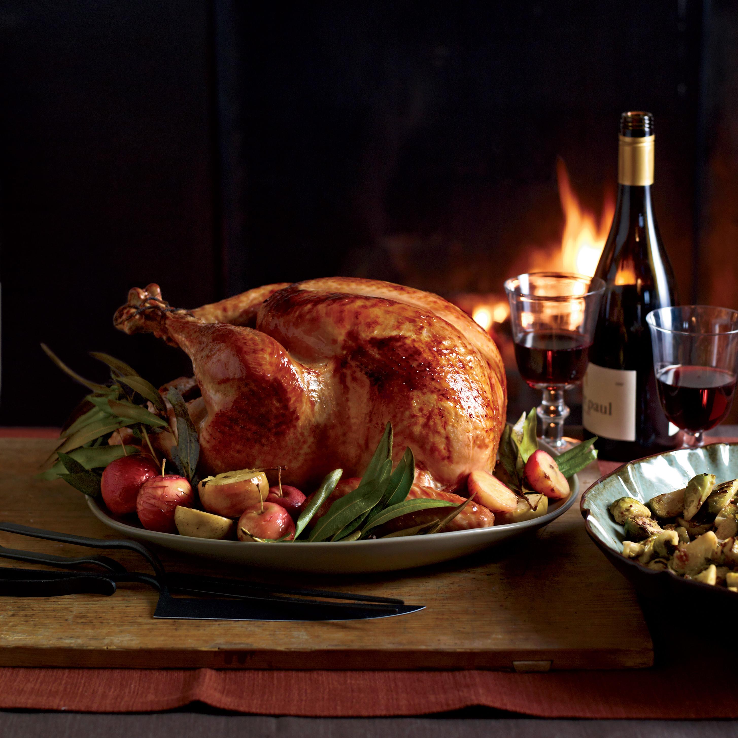 Wine For Thanksgiving Dinner  Cider Glazed Turkey with Lager Gravy Recipe Michael