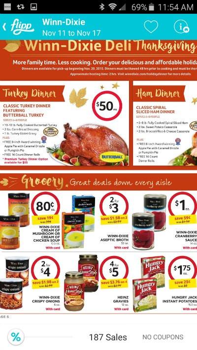 Winn Dixie Thanksgiving Dinner 2019  Tips to Save Money on Your Thanksgiving Dinner Menu