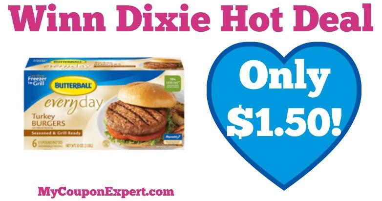 Winn Dixie Thanksgiving Dinner 2019  Butterball Products ly $1 50 at Winn Dixie