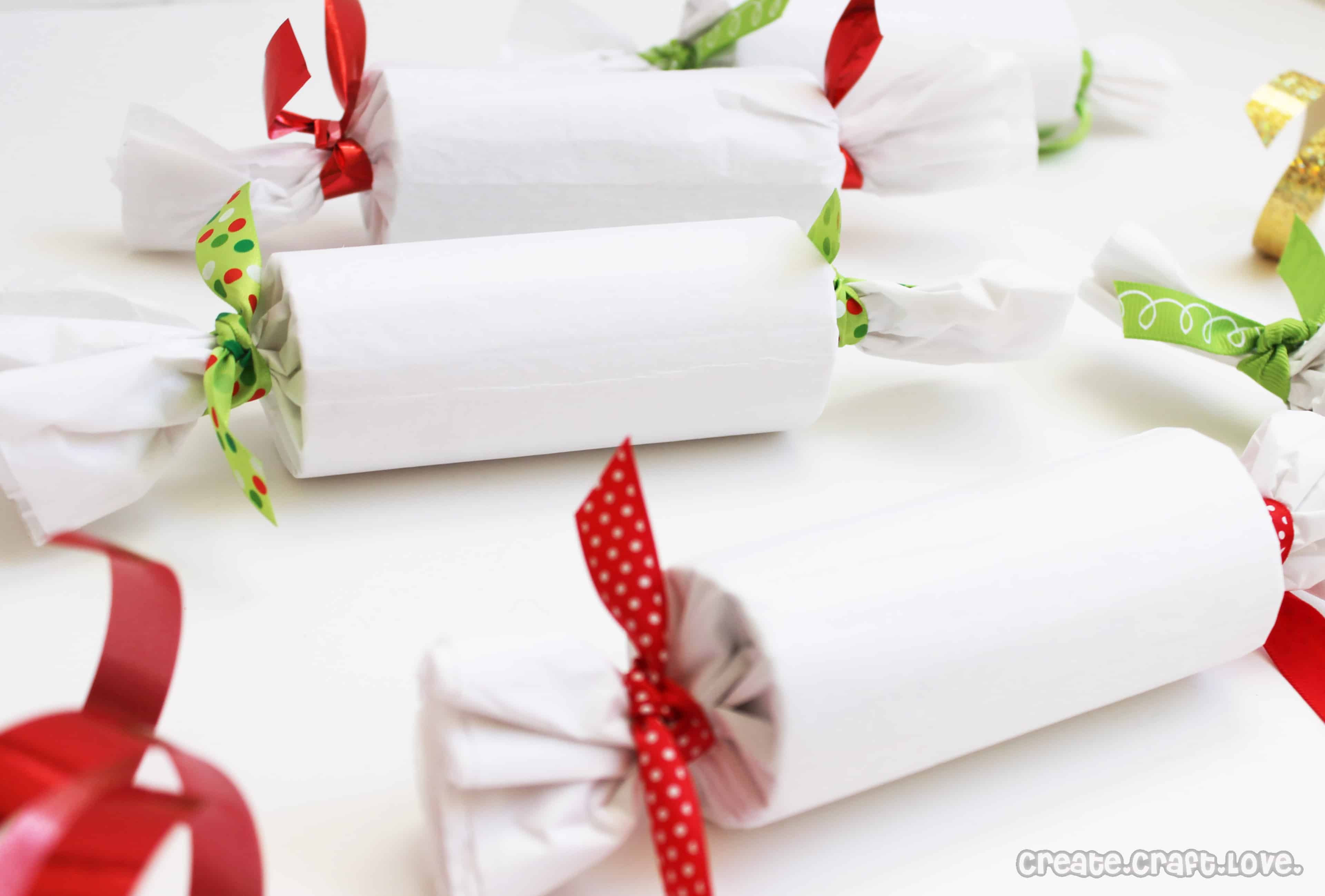 Wrapped Christmas Candy  Candy Roll Wrapped Presents